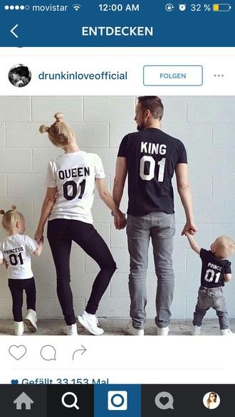 shirt king and queen instagram relationship goals modern family princess