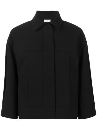 jacket cropped jacket cropped women black wool