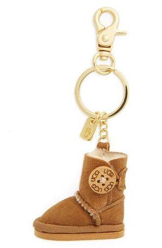 bag bag charm charm keychain ugg boots gold bag accessoires