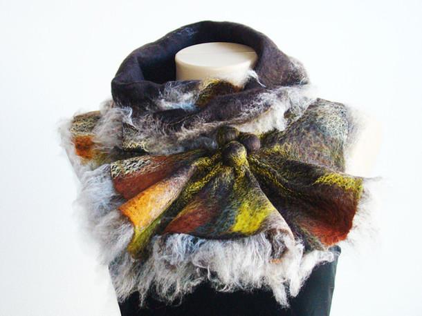 scarf accesoires wool scarf shawl neckwarmer collar