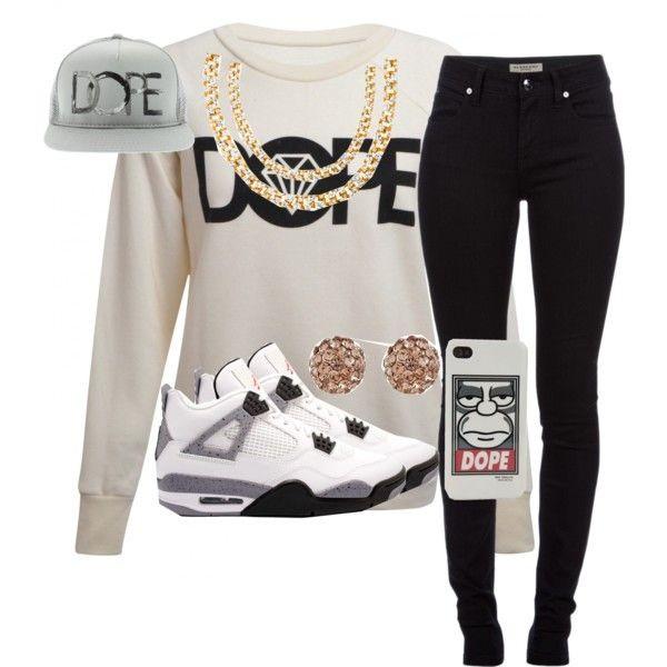 Sweater: dope, hat, swag, grey, black, gold, jordans ...