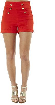 Arden B High Waist Sailor Shorts - ShopStyle