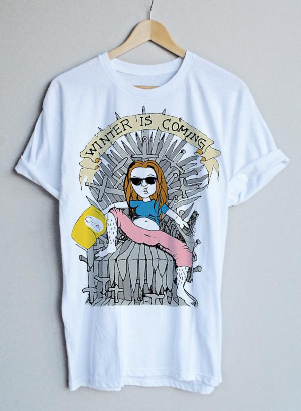 t-shirt game of thrones mens t-shirt white t-shirt