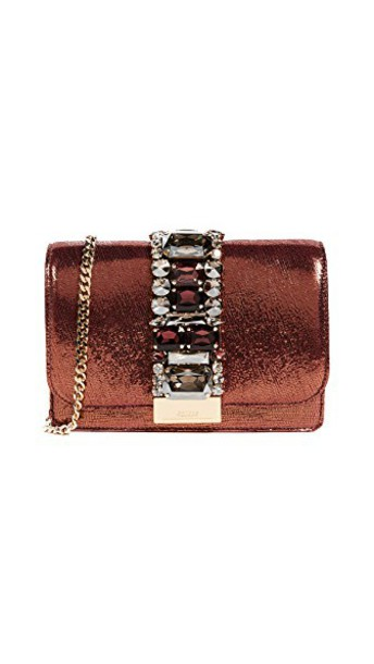 Gedebe clutch burgundy bag