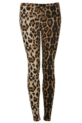 Animal Print Leggings (Glamour.com UK)