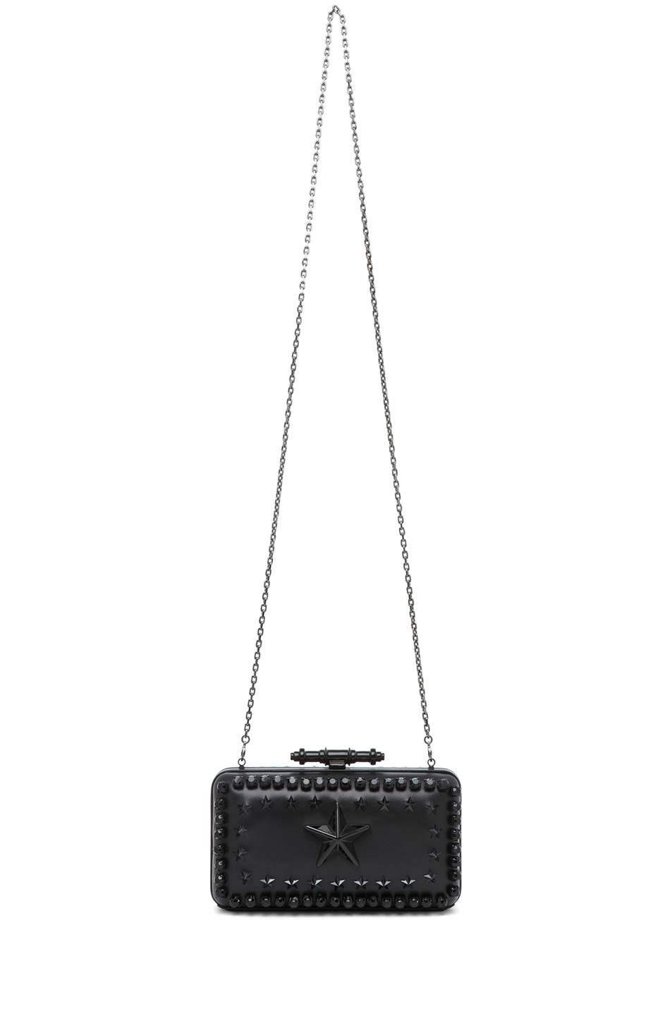 GIVENCHY | Obsedia Star-Studded Minaudiere in Black
