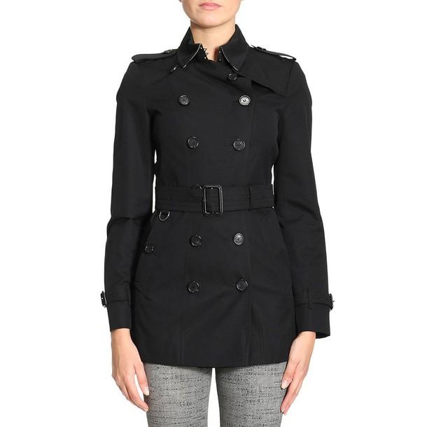 Burberry coat trench coat women black
