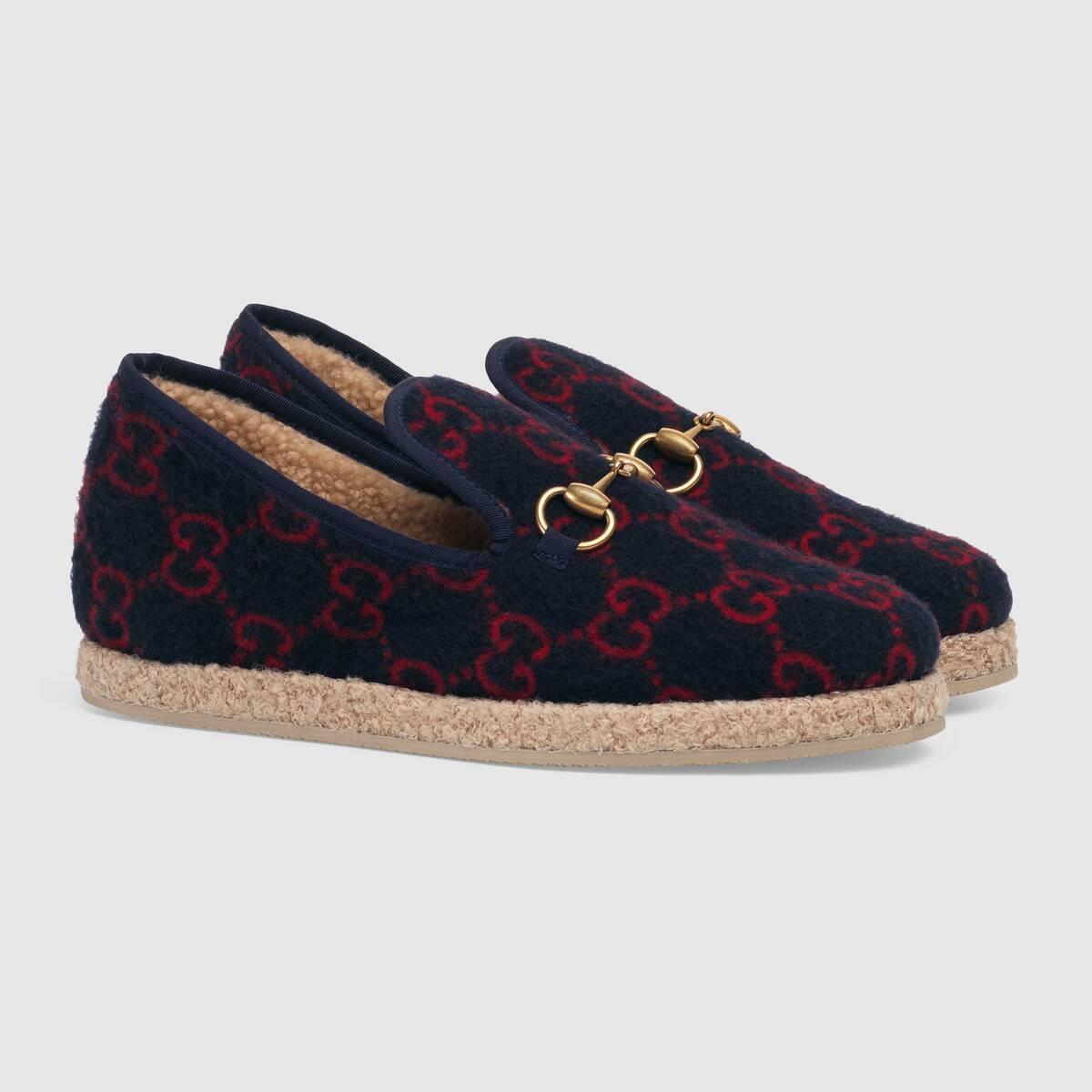 Women's GG wool loafer