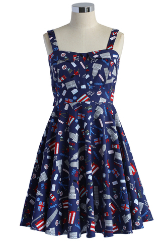 dress london tour skater dress chicwish summer dress skater dress cute dress navy dress