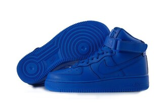 shoes blue nike air force
