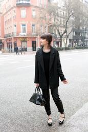 che cosa,blogger,blazer,black pants
