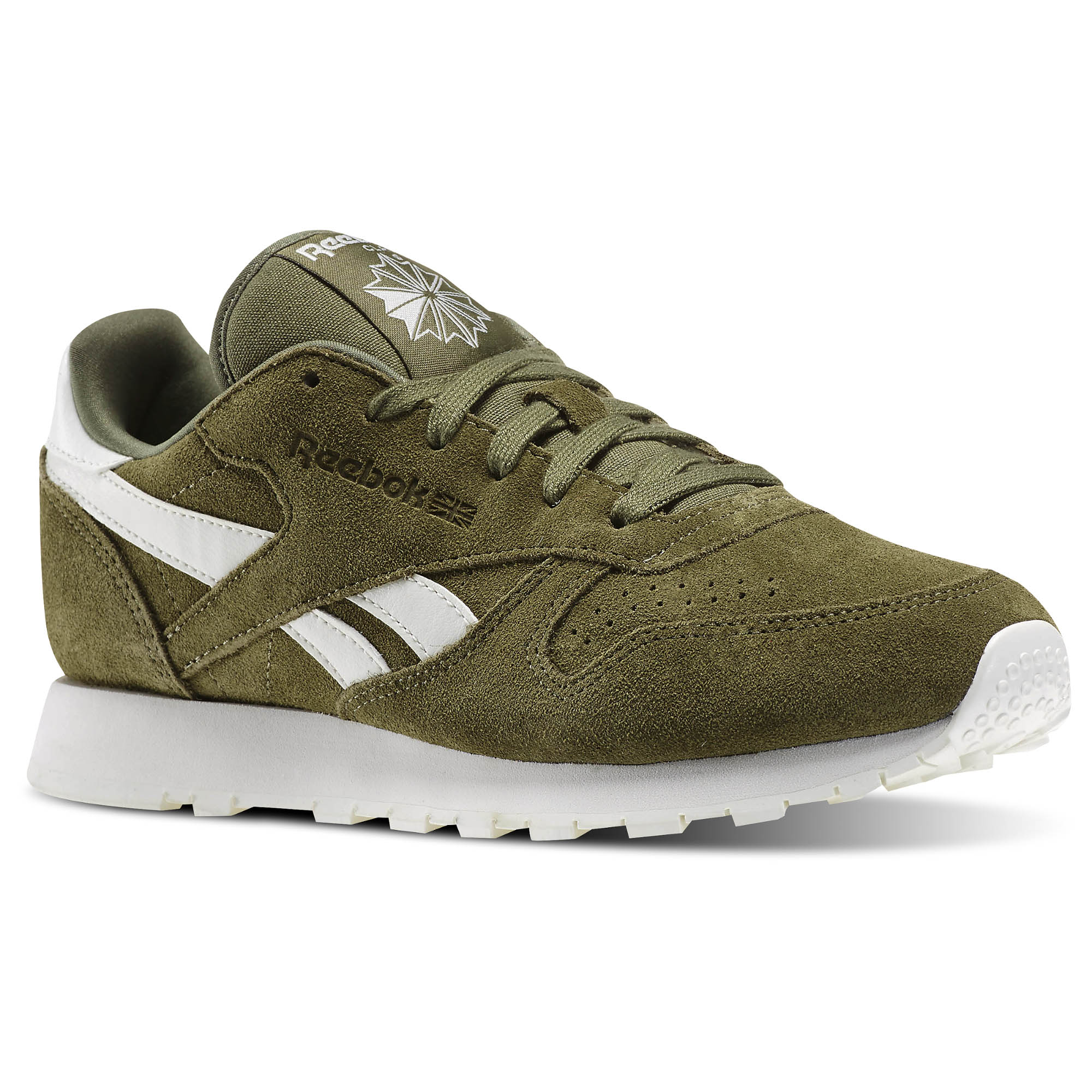 Reebok Classic Leather Suede Core - Green  a9136d550c61