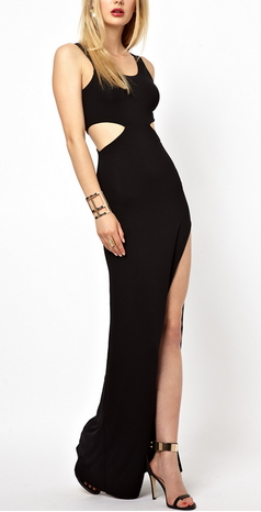 Hollow Out Maxi Dress - Juicy Wardrobe