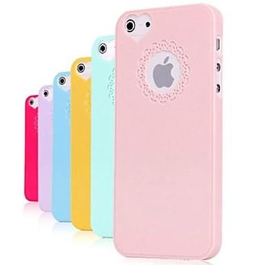 carving en patroon gehoord-vorm effen kleur harde case voor iPhone 5/5s (diverse kleuren) - USD $ 1.99