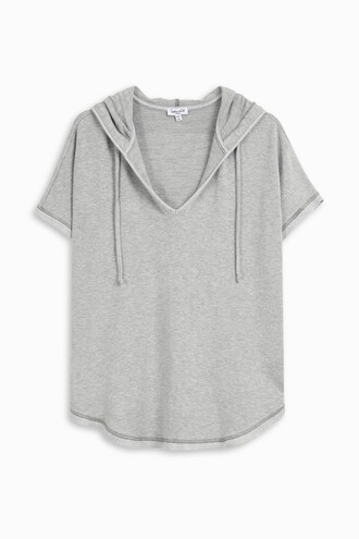 hoodie women grey sweater