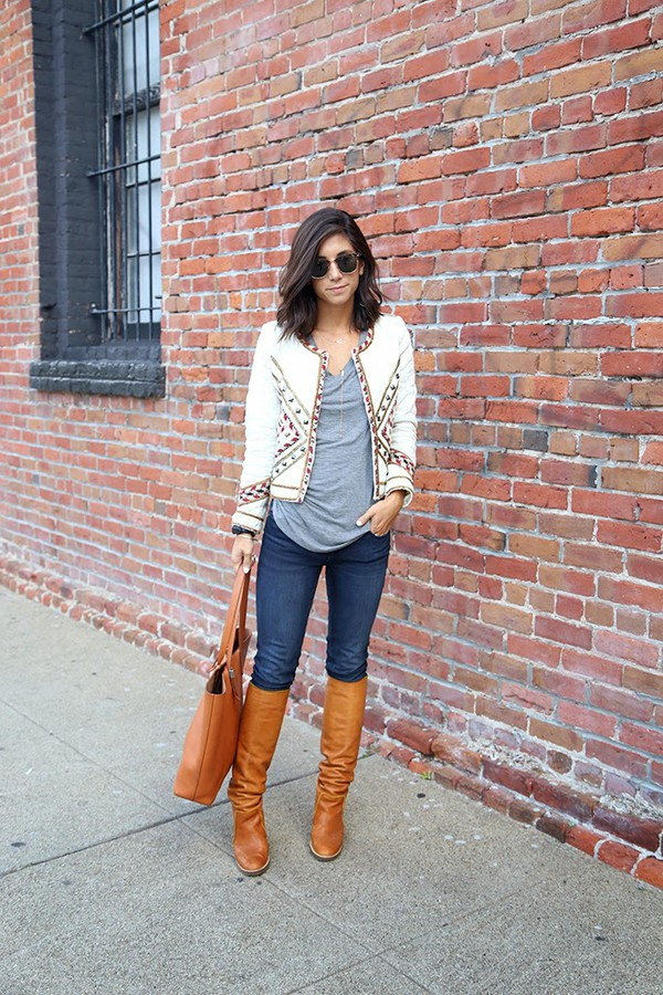 this time tomorrow blogger jacket jeans bag sunglasses jewels