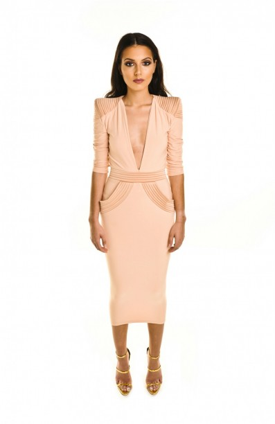 Zhivago Nude Informant Dress