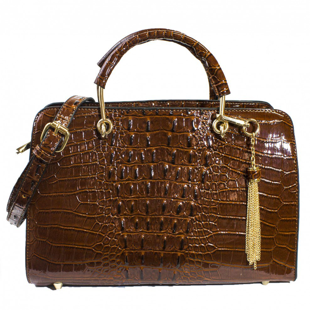 Petra exotic structured satchel
