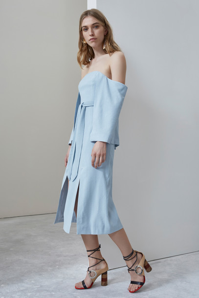 C/MEO COLLECTIVE dress bustier dress