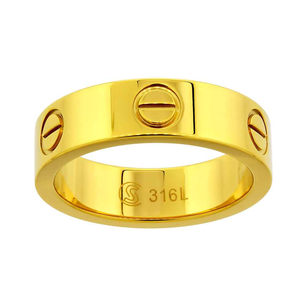 Amore Stainless Steel Ring