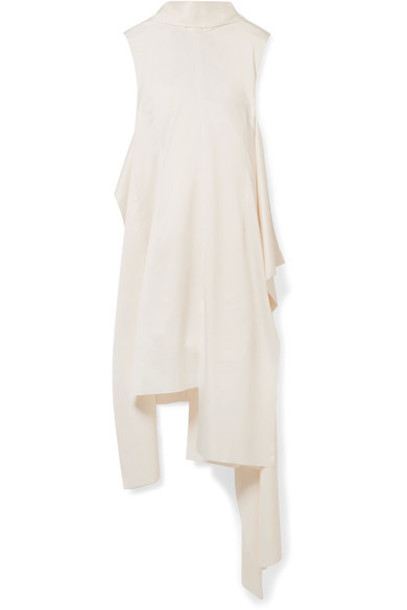 Solace London dress satin cream