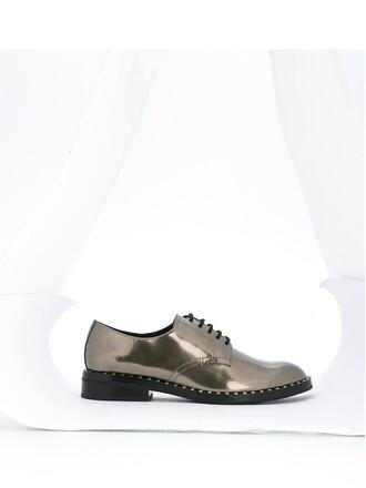 shoes lace grey
