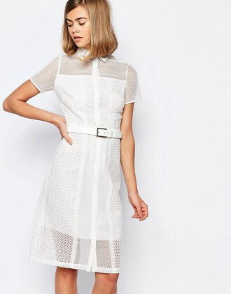 dress lace dress white white dress shirt dress