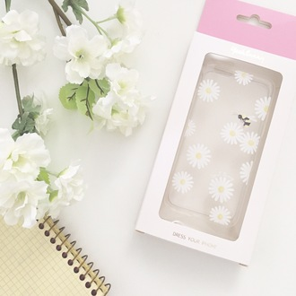 phone cover yeah bunny daisy floral cute iphone cover iphone case iphone flowers