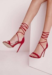 shoes,red,heels,strappy,red strappy heels