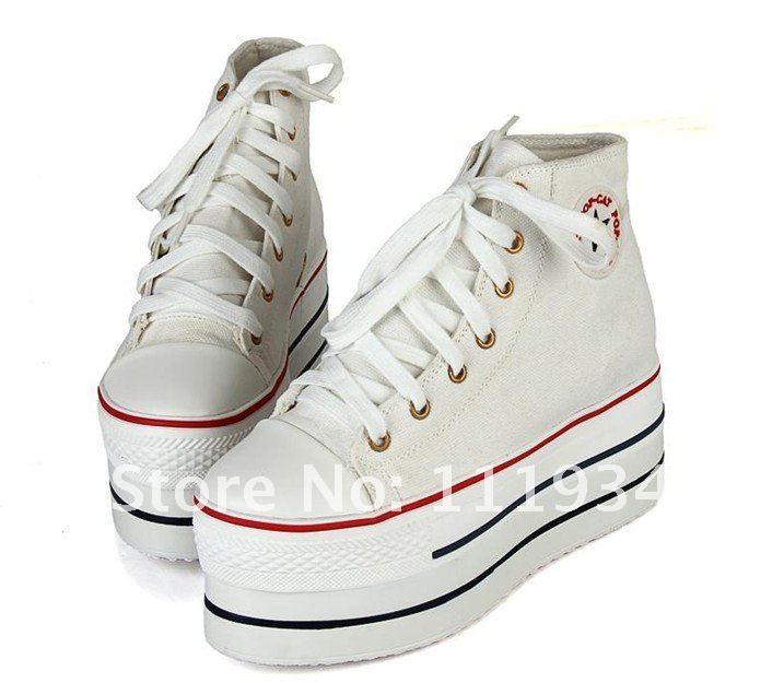 8e61ce6934df Aliexpress.com   Buy women platform shoes Canvas Shoes from ...