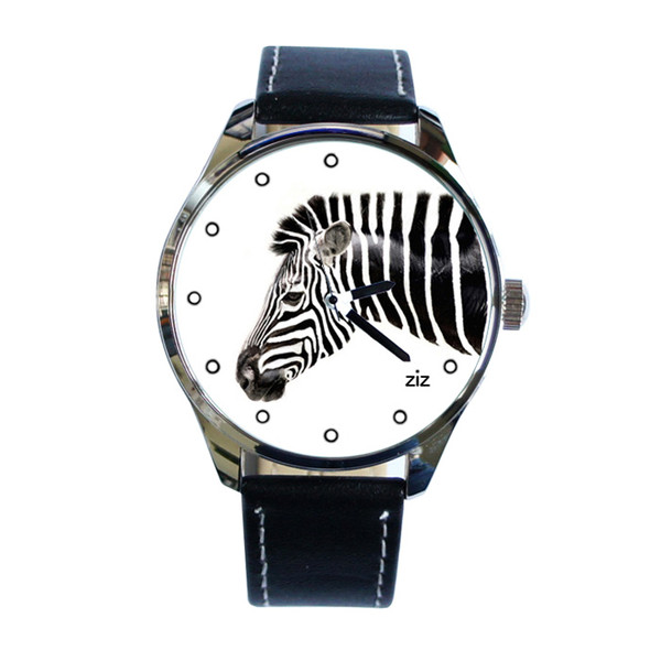 jewels ziziztime ziz watch watch watch zebra black n white