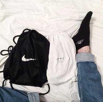 bag nike bag bag nike nike tumblr aesthetic aesthetic tumblr soft grunge bag