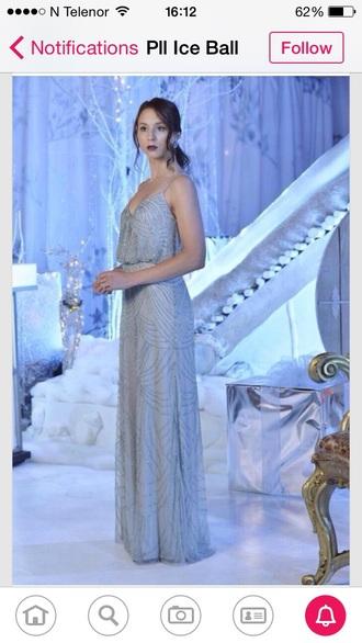 dress fashion pll ice ball prom dress