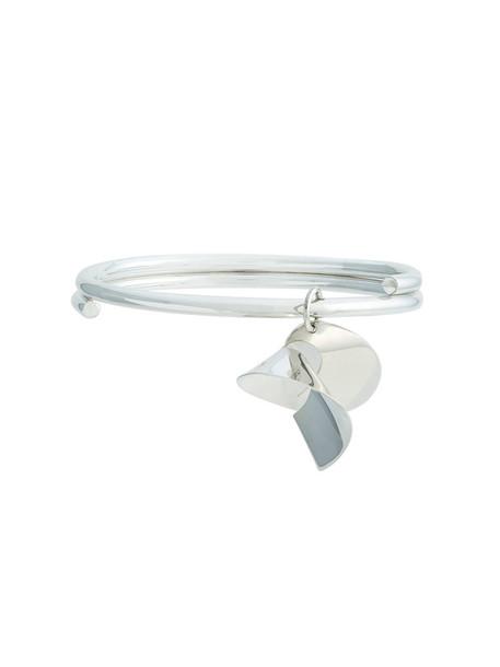 Sara Robertsson women silver grey metallic jewels