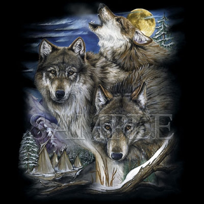 wolf t shirt design. Black Bedroom Furniture Sets. Home Design Ideas
