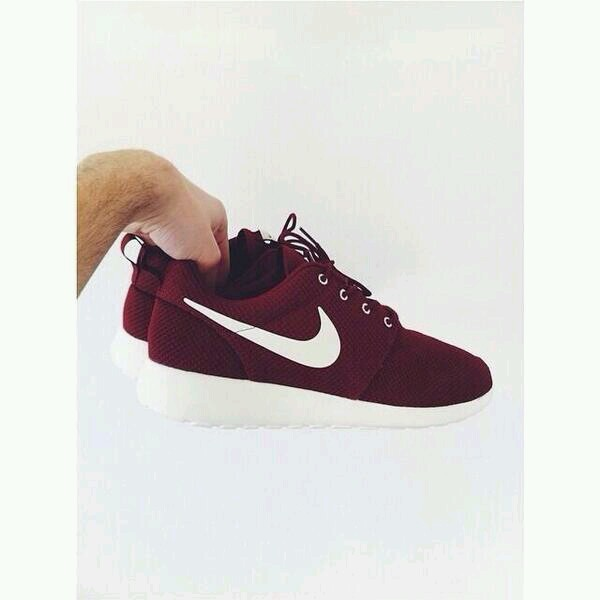 shoes burgundy roshe runs nike nike running shoes sportswear running shoes nike roshe run