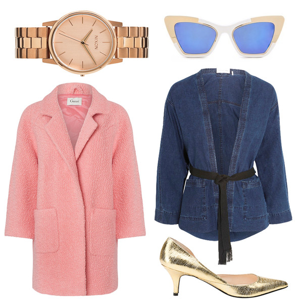 jane's sneak peak coat jacket shoes jewels sunglasses