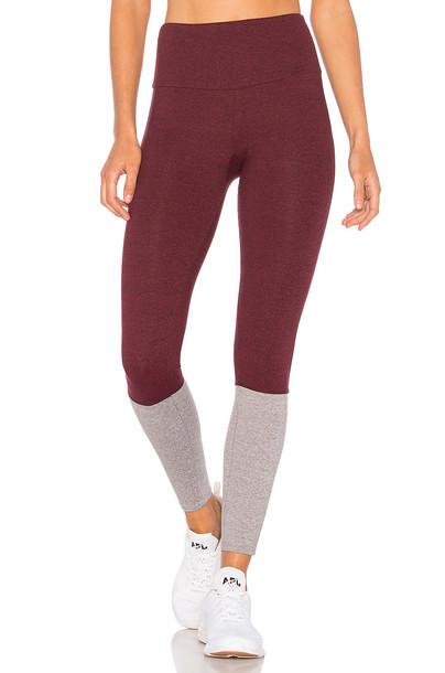 Onzie street burgundy pants