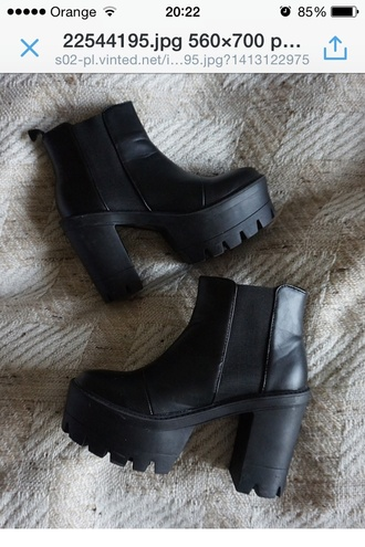 high heels shoes boots heels black tumblr grunge tumblr outfit