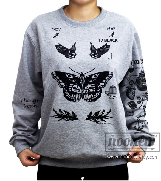 3c89570a9fcf Harry Styles Tattoo wears a sweater available for  28 at etsy.com ...