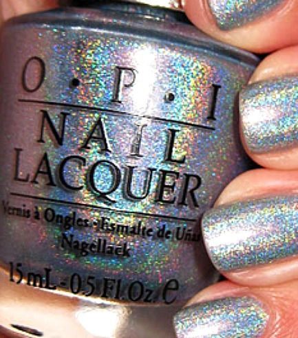 "OPI DESIGNER DS ""SAPPHIRE"" DS 010 15ML DISCONTINUED INTENSE HOLOGRAPHIC LAST 1!! 
