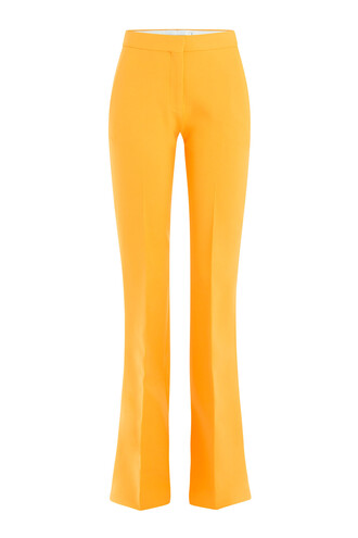 pants wool orange