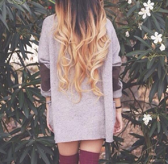 hair bow socks