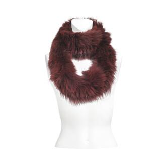fox scarf knitted scarf