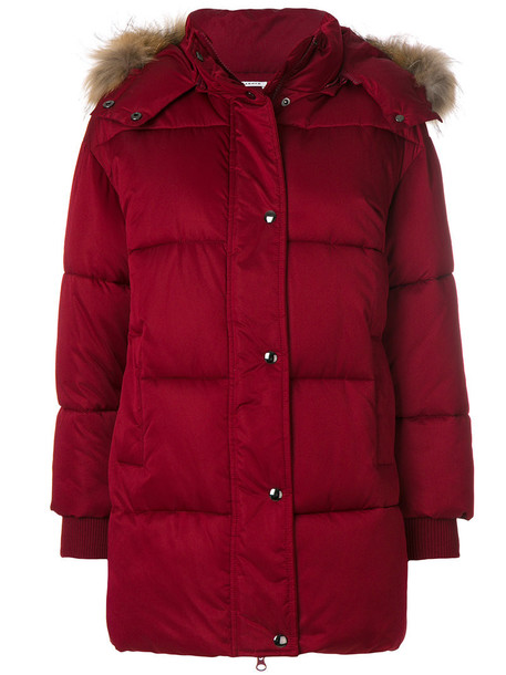 P.A.R.O.S.H. coat fur women red
