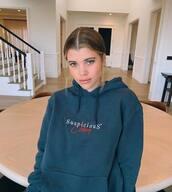 sweater,hoodie,casual,sweatshirt,sofia richie,instagram