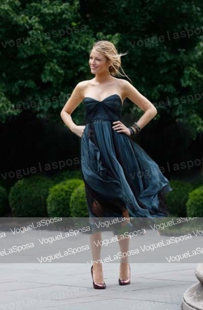 Free shipping Wholesale Blake Lively Blue Homecoming Wedding Guest Dress Gossip Girl Fashion 8jdlja2zrddcgxpwlxdc9oaccr-in Celebrity-Inspired Dresses from Apparel & Accessories on Aliexpress.com