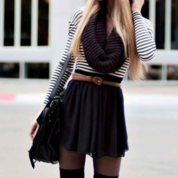 Casual Skater Skirt Outfits Skater Skirt Outfits For