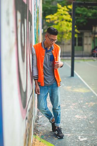 closet freaks blogger t-shirt jacket shoes