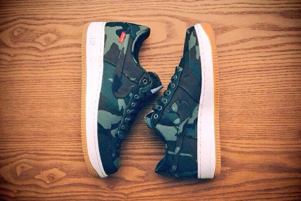 shoes camouflage